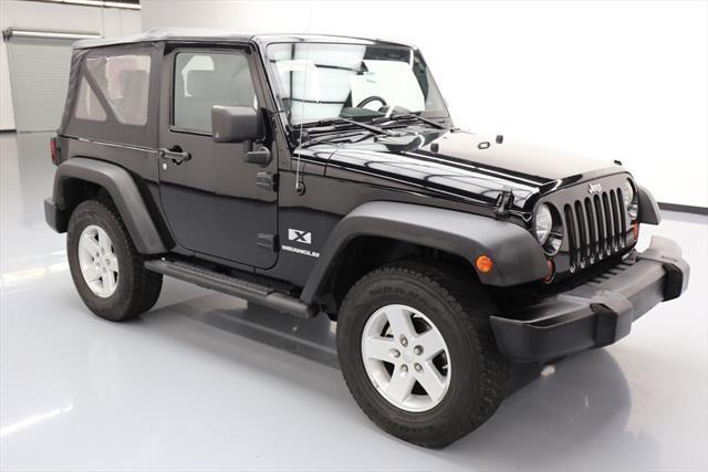 low miles 2008 Jeep Wrangler X Sport Utility 4×4