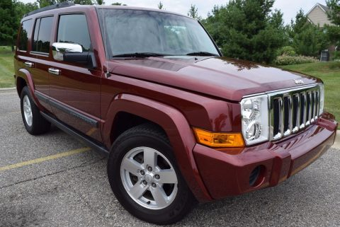 Sport Edition 2008 Jeep Commander 4×4 for sale