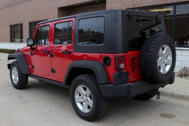 very clean 2008 Jeep Wrangler Rubicon 4×4