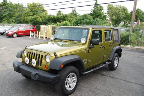 very clean 2008 Jeep Wrangler Unlimited X Sport Utility 4×4 for sale