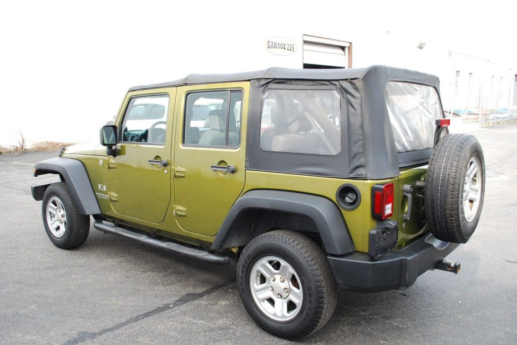 very clean 2008 Jeep Wrangler Unlimited X Sport Utility 4×4