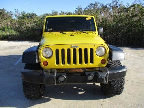 water damage 2008 Jeep Wrangler Unlimited Rubicon 4×4 for sale