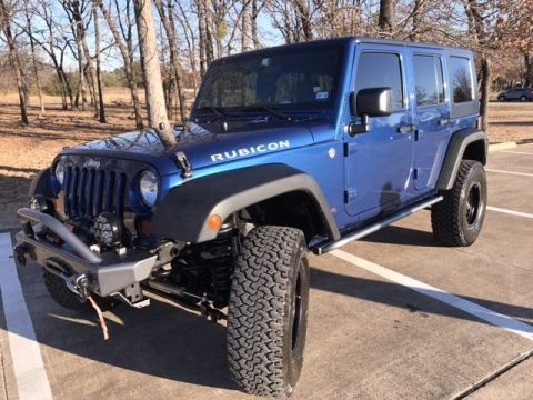 hemi powered 2010 Jeep Wrangler Rubicon Unlimited 4×4 for sale