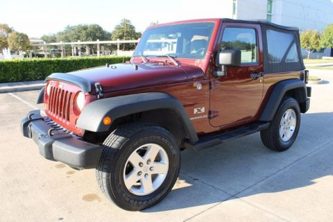loaded 2009 Jeep Wrangler 4WD 2dr X 4×4 for sale