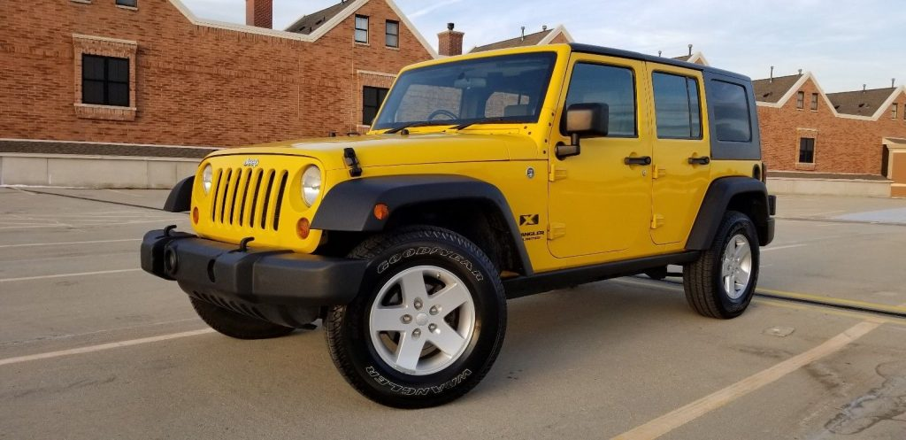 no issues 2009 Jeep Wrangler Unlimited X Sport Utility 4×4