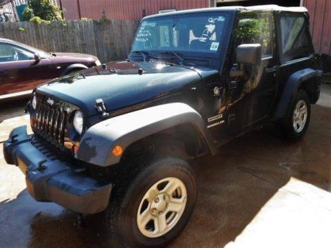 damaged 2012 Jeep Wrangler Sport 4×4 for sale