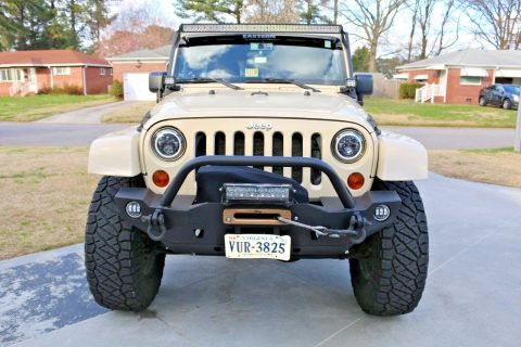 lifted 2011 Jeep Wrangler SAHARA 4×4 for sale