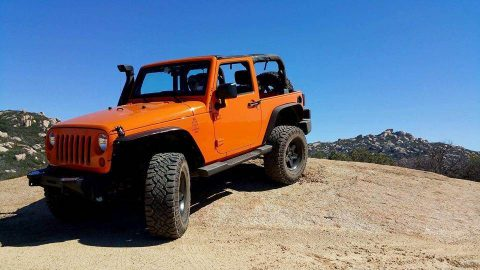upgraded 2012 Jeep Wrangler 4×4 for sale