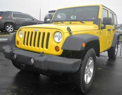 very clean 2011 Jeep Wrangler Sport 4×4 for sale
