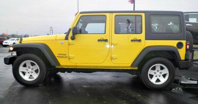 very clean 2011 Jeep Wrangler Sport 4×4