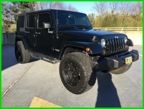 low miles 2013 Jeep Wrangler SPORT 4×4 for sale
