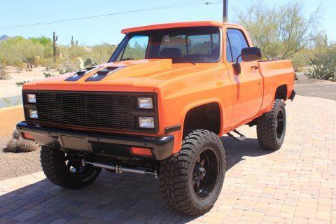 Recently restored 1981 Chevrolet C/K Pickup 1500 Silverado 4×4 for sale