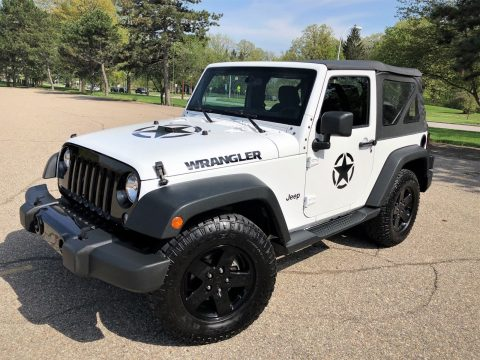 well optioned 2014 Jeep Wrangler SPORT 4×4 for sale