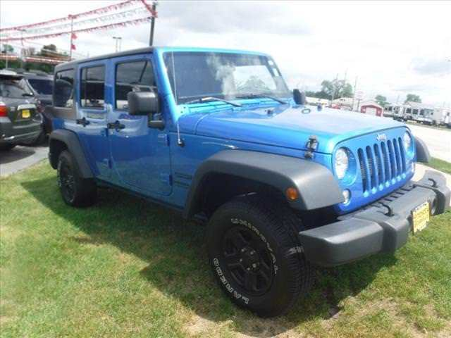 clean 2015 Jeep Wrangler Unlimited 4×4