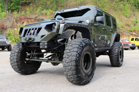 custom built 2015 Jeep Wrangler Rubicon 4×4 for sale