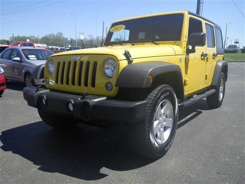Very Low Mileage 2015 Jeep Wrangler Sport 4×4 for sale