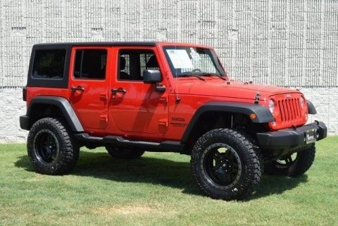 well equipped 2015 Jeep Wrangler Unlimited Sport Lifted 4×4 for sale