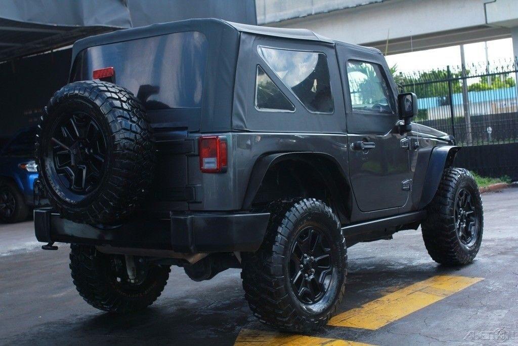 loaded 2016 Jeep Wrangler Sport 4×4