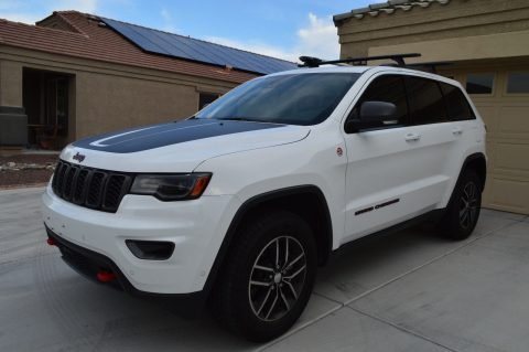 low mileage 2017 Jeep Grand Cherokee Trailhawk 4×4 for sale
