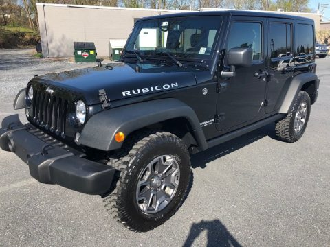 low miles 2016 Jeep Wrangler Rubicon rare manual trans 4×4 for sale