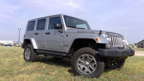 nicely optioned 2016 Jeep Wrangler Rubicon 4×4 for sale