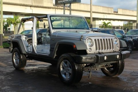 well equipped 2016 Jeep Wrangler Sport 4×4 for sale