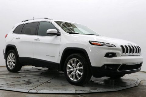 well equipped 2017 Jeep Cherokee Limited 4×4 for sale