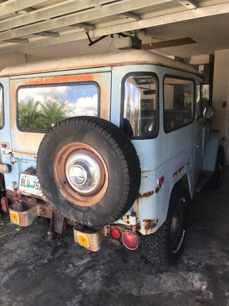 Everything Original 1973 Toyota Land Cruiser Fj40 44 For Sale 1983