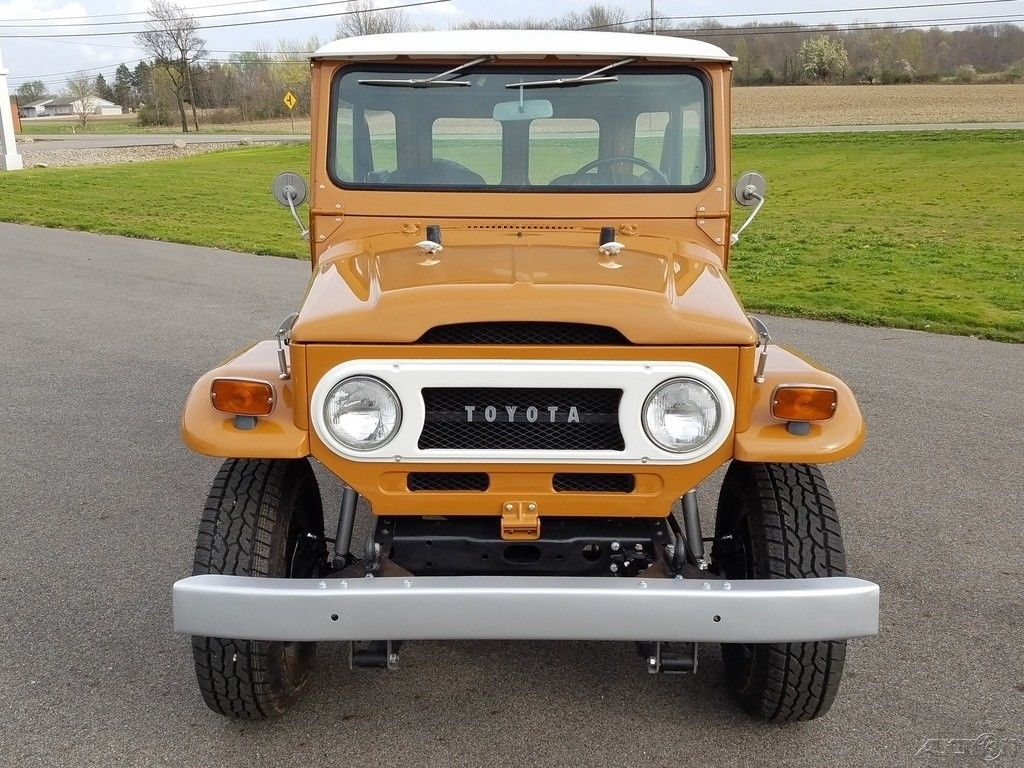Restored 1973 Toyota Land Cruiser 44 For Sale Original