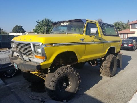completely customized 1979 Ford Bronco Ranger 4×4 for sale