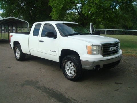 great running 2008 GMC Sierra 1500 SLE pickup 4×4 for sale