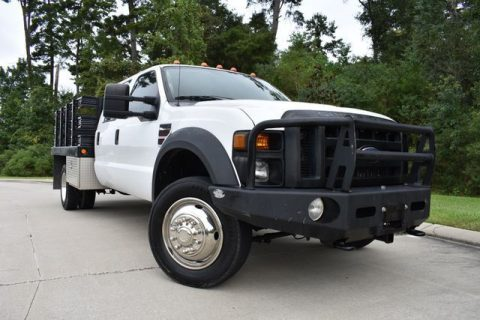 great worker 2008 Ford F 550 XL pickup 4×4 for sale