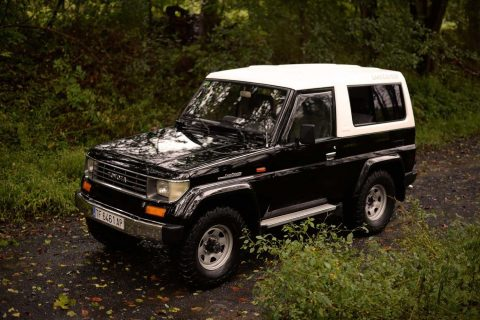 nerw paint 1991 Toyota Land Cruiser 4×4 for sale