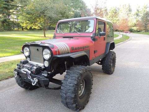 perfectly restored 1983 Jeep CJ Renegade 4×4 for sale