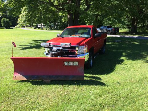 plow equipped 2008 Chevrolet Silverado 2500 pickup 4×4 for sale