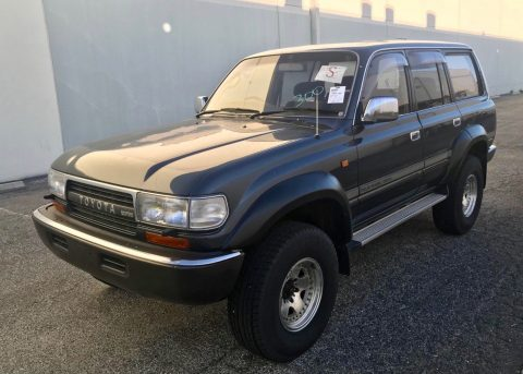 solid 1991 Toyota Land Cruiser HDJ81 4×4 for sale