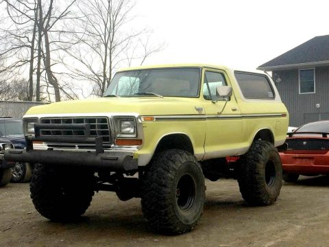 vintage classic 1979 Ford Bronco XLT 4×4 for sale