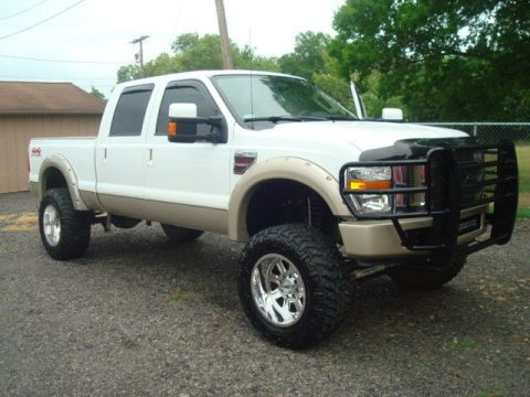 well equipped 2008 Ford F 250 KING RANCH pickup 4×4 for sale