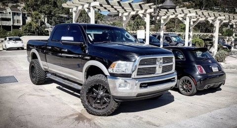 custom wheels 2010 Dodge Ram 3500 4×4 for sale