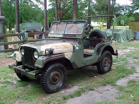 needs TLC 1969 Willys M38a1 Jeep military 4×4 for sale
