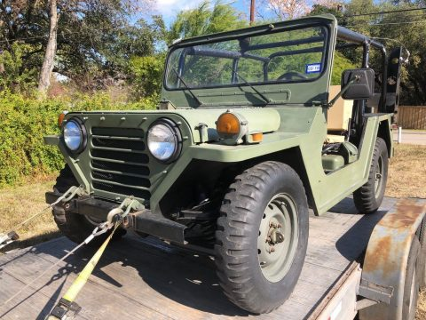 Restored 1987 Jeep M151 A2 4×4 for sale