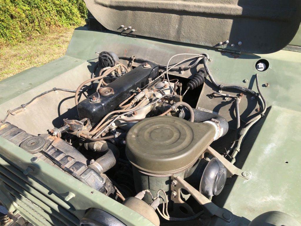Restored 1987 Jeep M151 A2 4×4