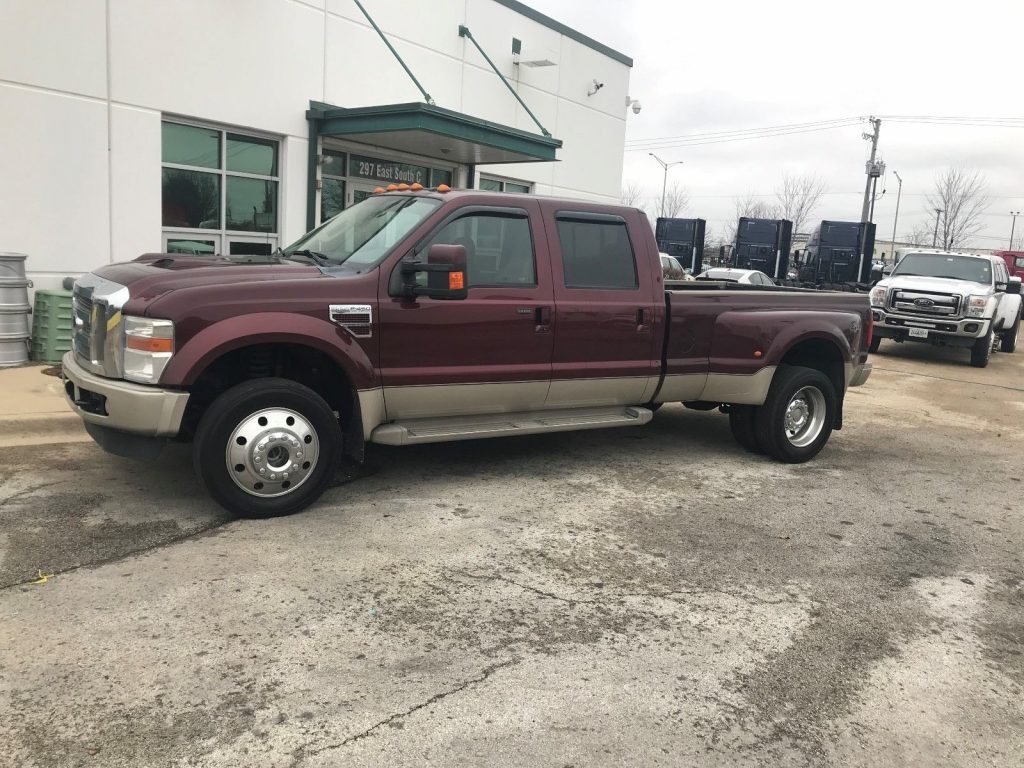 very clean 2010 Ford F 450 KING RANCH 4×4