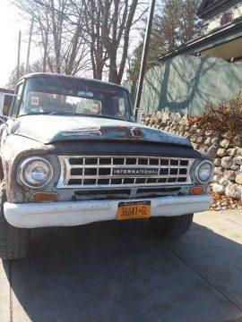 vintage 1964 International Harvester pickup 4×4 for sale