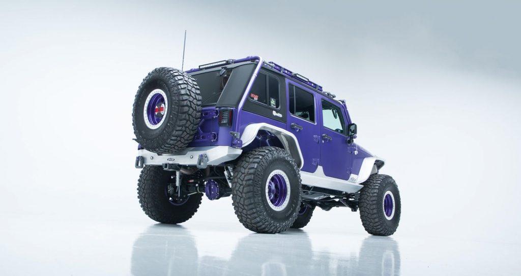 well modified 2017 Jeep Wrangler Rubicon 4×4