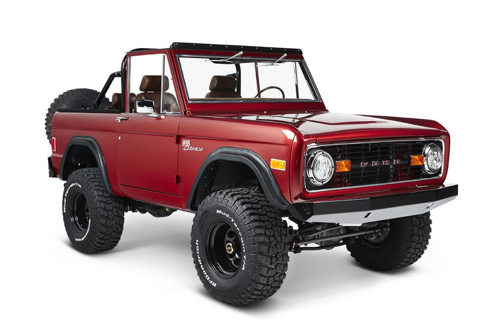 awesome 1977 Ford Bronco Coyote 4×4