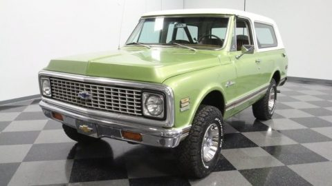 beautifully restored 1972 Chevrolet K5 Blazer 4×4 for sale