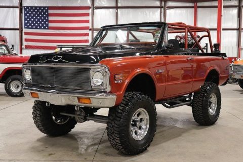 completely rebuilt 1972 Chevrolet Blazer K5 4×4 for sale