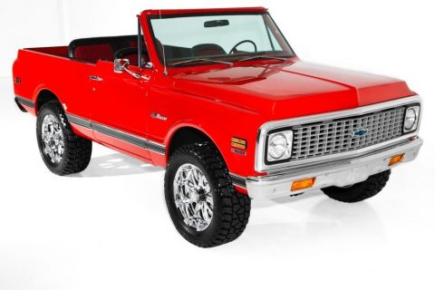 custom 1972 Chevrolet Blazer Houndstooth 4 Speed 4×4 for sale
