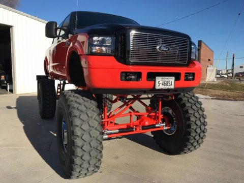 huge lift 2004 Ford F 250 Harley Davidson 4×4 for sale
